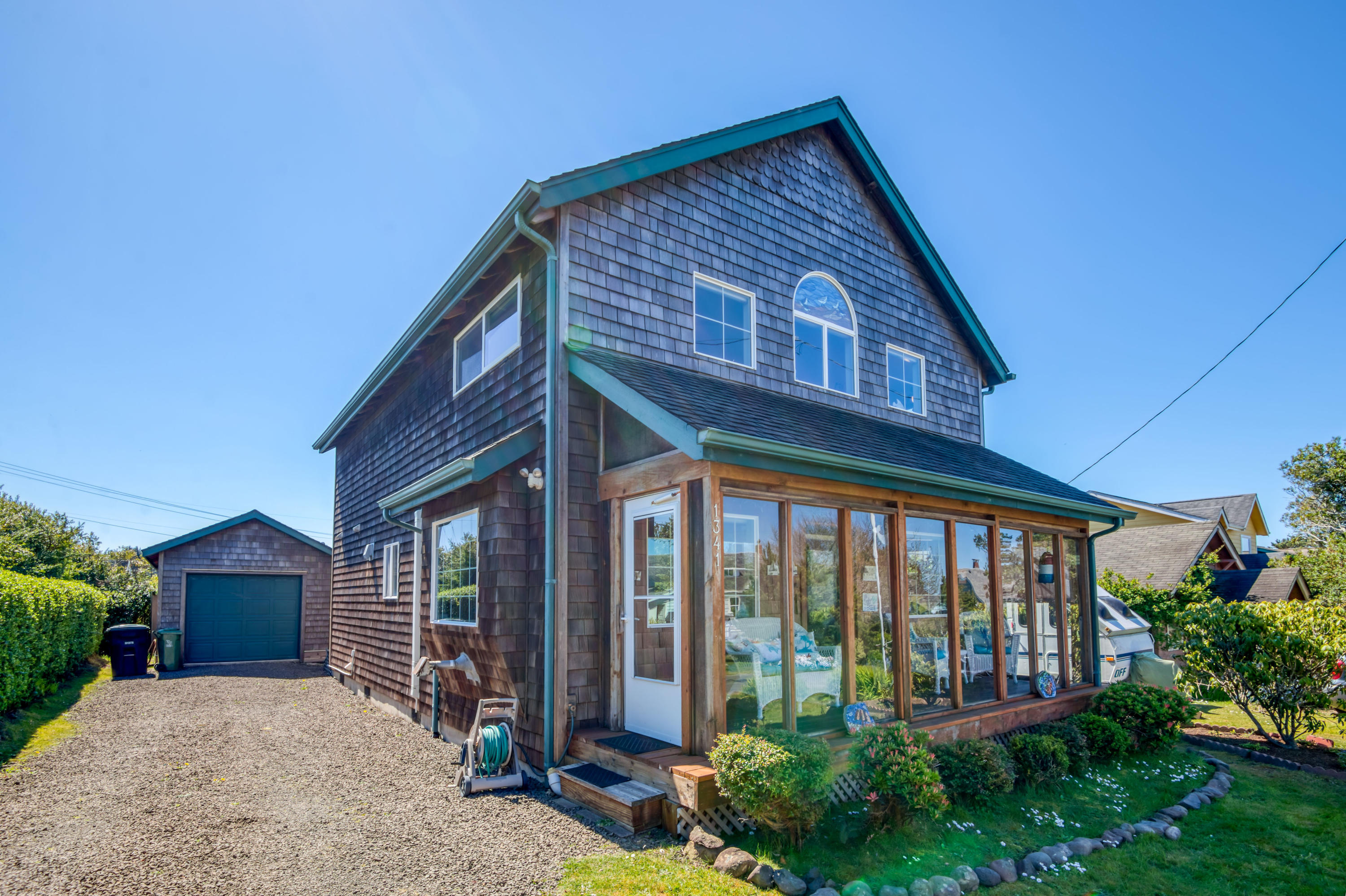 1341 SW Adahi Ave, Waldport, OR 97394 - Front