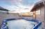 345 Salishan Dr, Gleneden Beach, OR 97388 - Hottub sunset