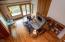 3035 Elderberry Ln, Otis, OR 97368 - Balcony view over Living Room