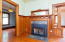485 N Main St, Toledo, OR 97391 - Gas Fireplace In Dining Room