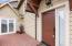 120 Fishing Rock Street, Depoe Bay, OR 97341 - One of two entrance doors