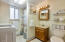 71 Surfside Dr, Yachats, OR 97498 - Downstairs bathroom.