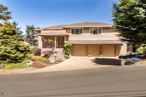 35 SW South Point St, Depoe Bay, OR 97341 - Front Elevation