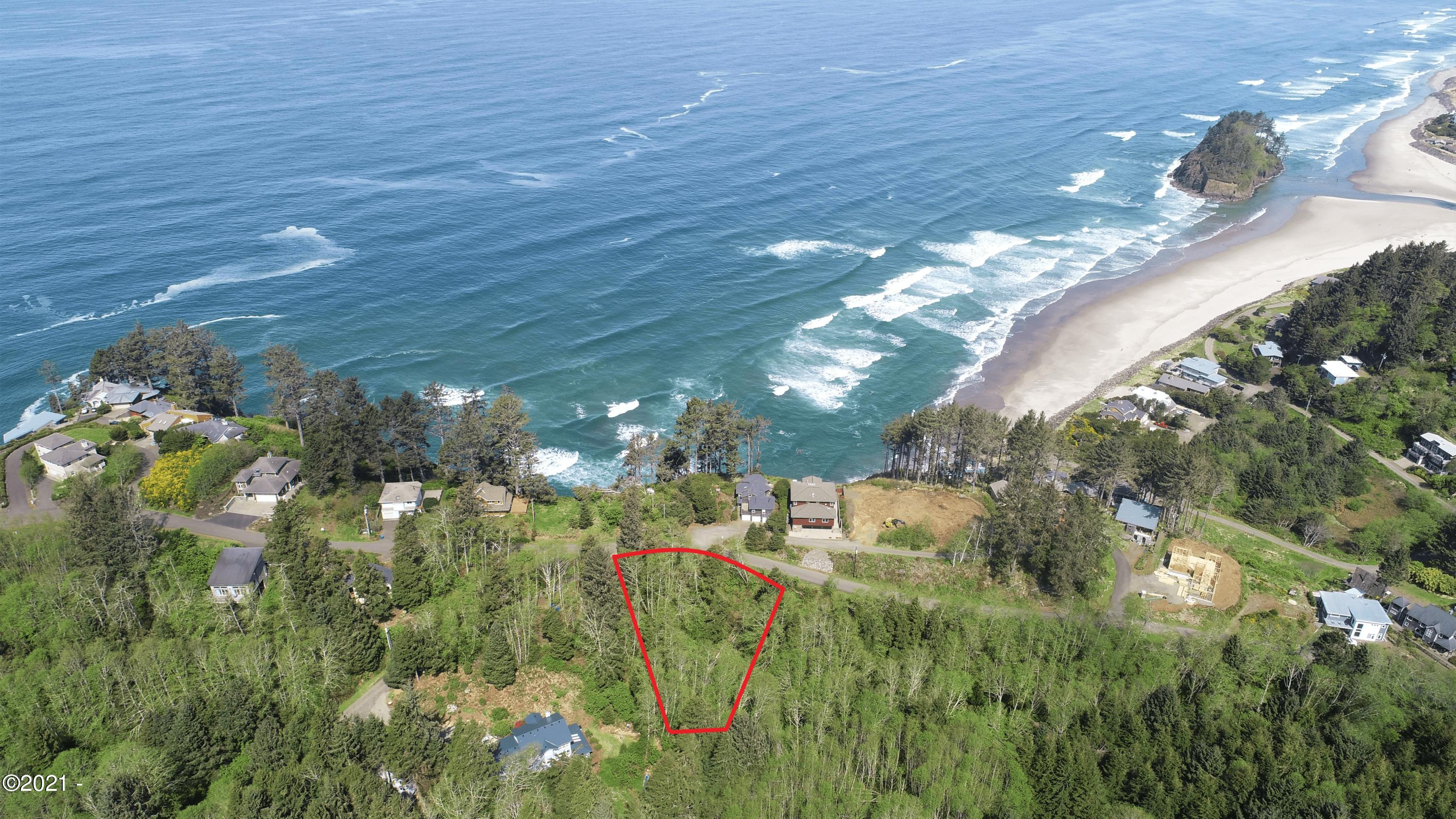 TL 2500 S Beach Rd, Neskowin, OR 97149 - Aerial of Lot