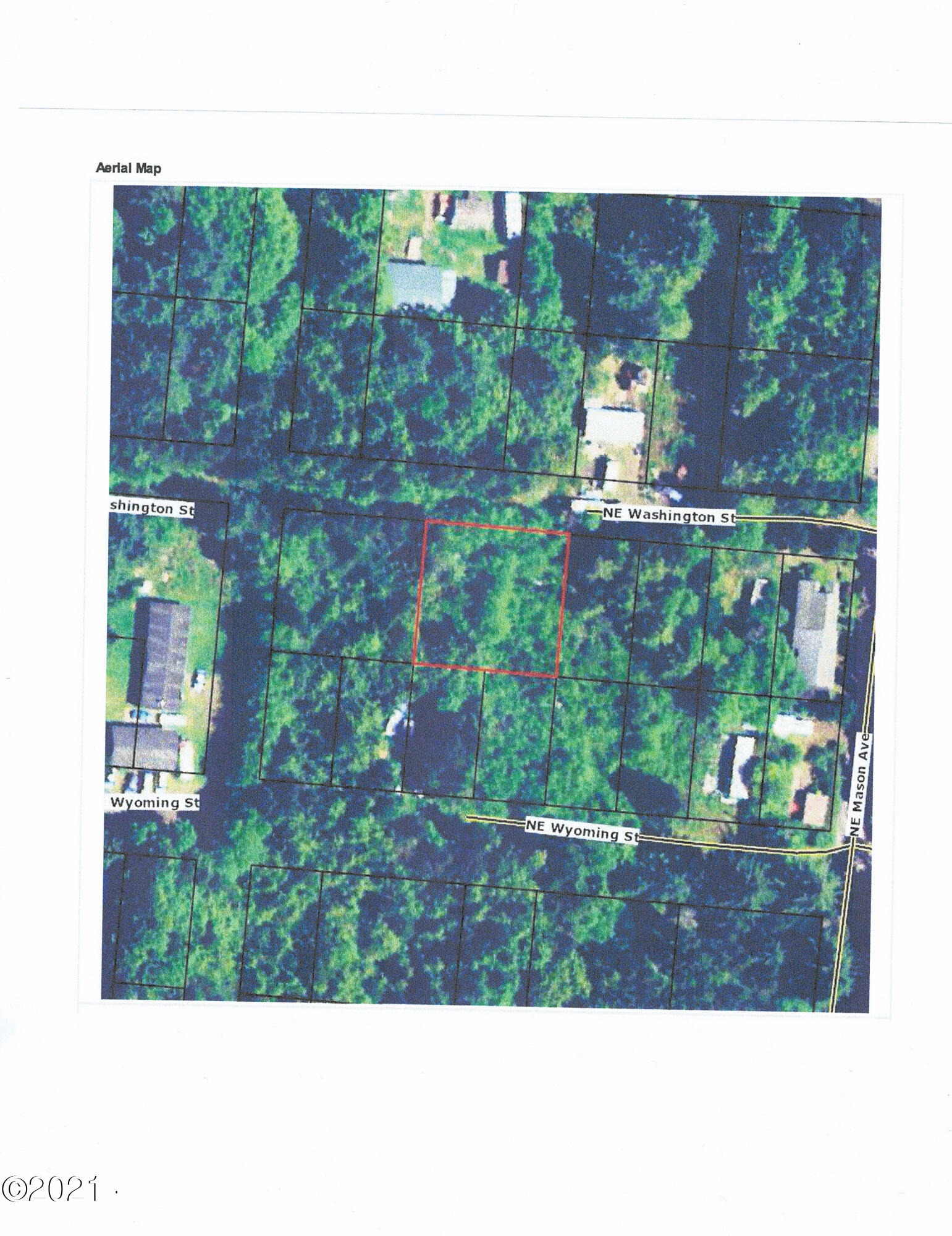 TL8600 NE Washington St., Yachats, OR 97498 - Aerial Map