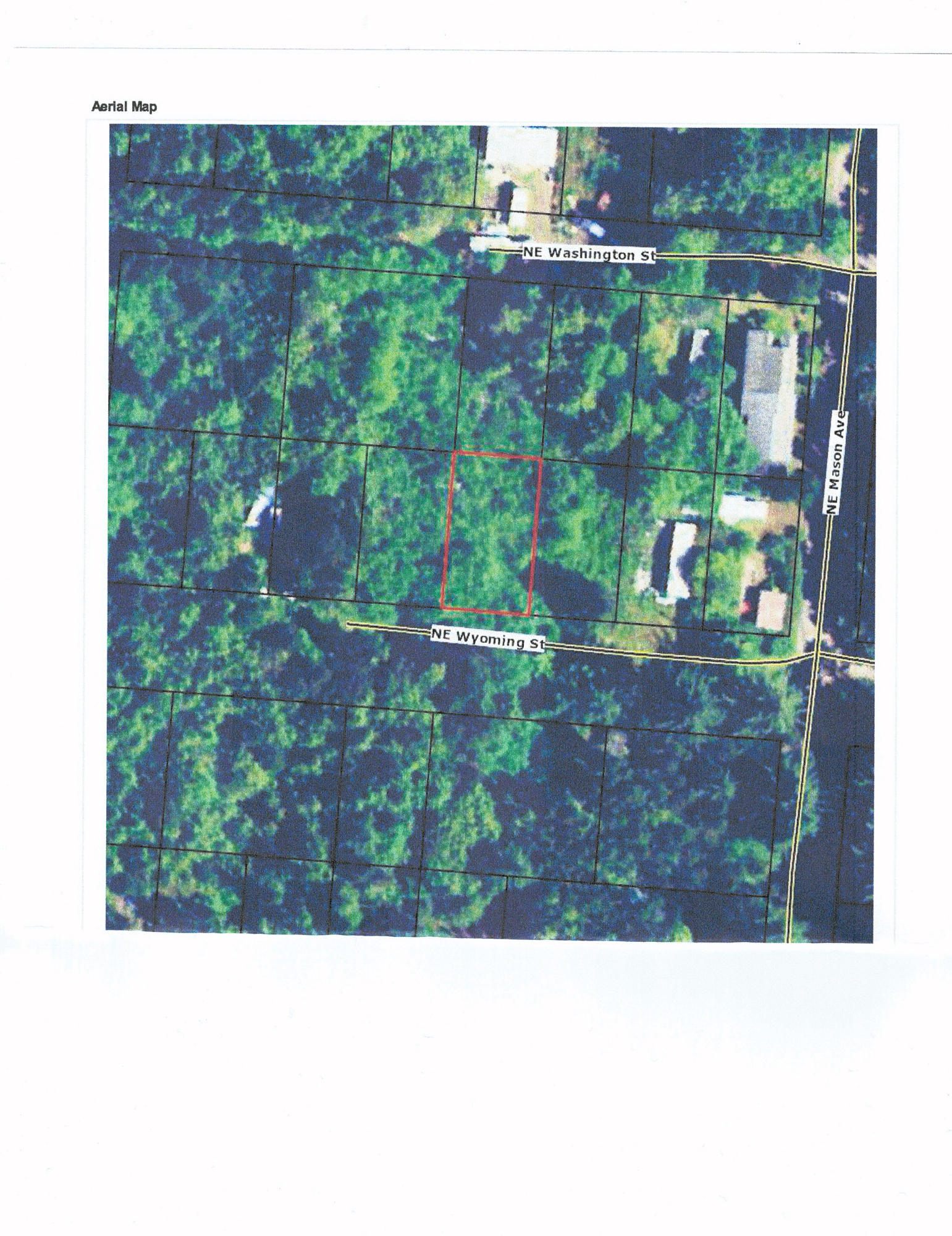 TL9200 NE Wyoming St., Yachats, OR 97498 - Aerial Map