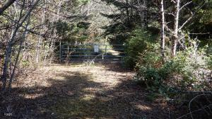 TL 3600 SW Sitka Ridge Court, Waldport, OR 97394 - Gate to property