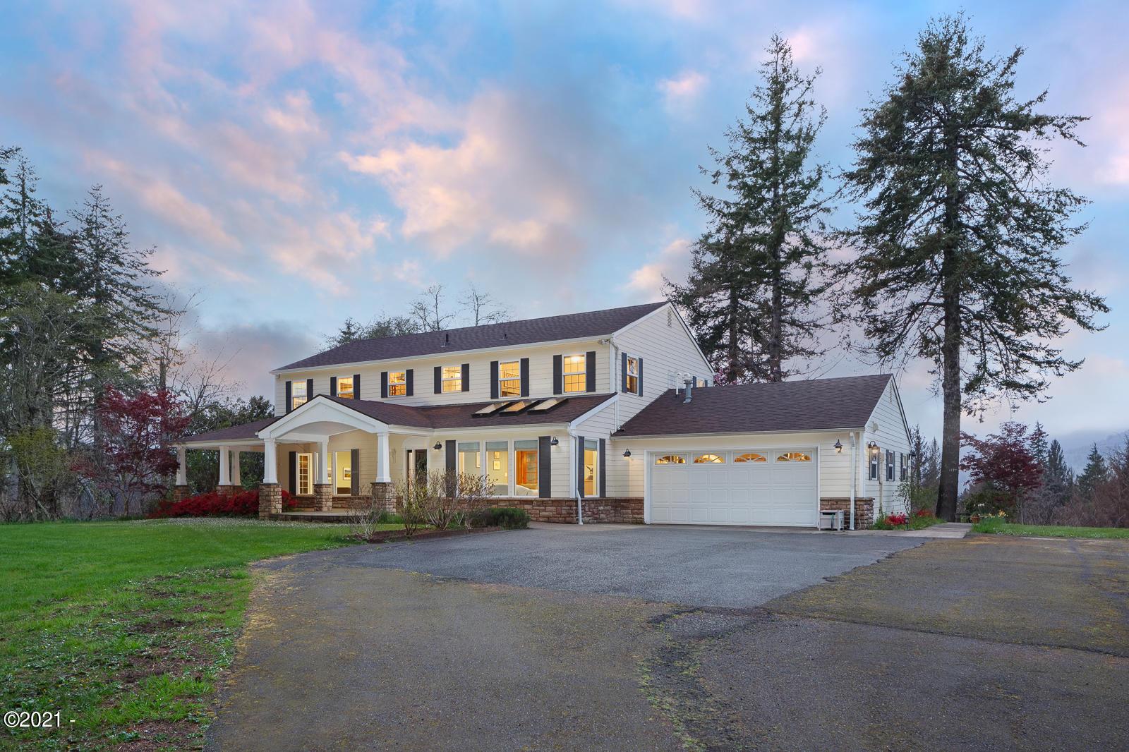 7295 NE Highland Rd, Otis, OR 97368 - Front of Home