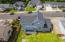 4650 NE Tide Ave, Lincoln City, OR 97367 - Backyard Drone View