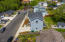 4650 NE Tide Ave, Lincoln City, OR 97367 - Drone view looking north