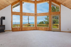 3671 Ross Ave, Depoe Bay, OR 97341 - Wall of Ocean View Windows