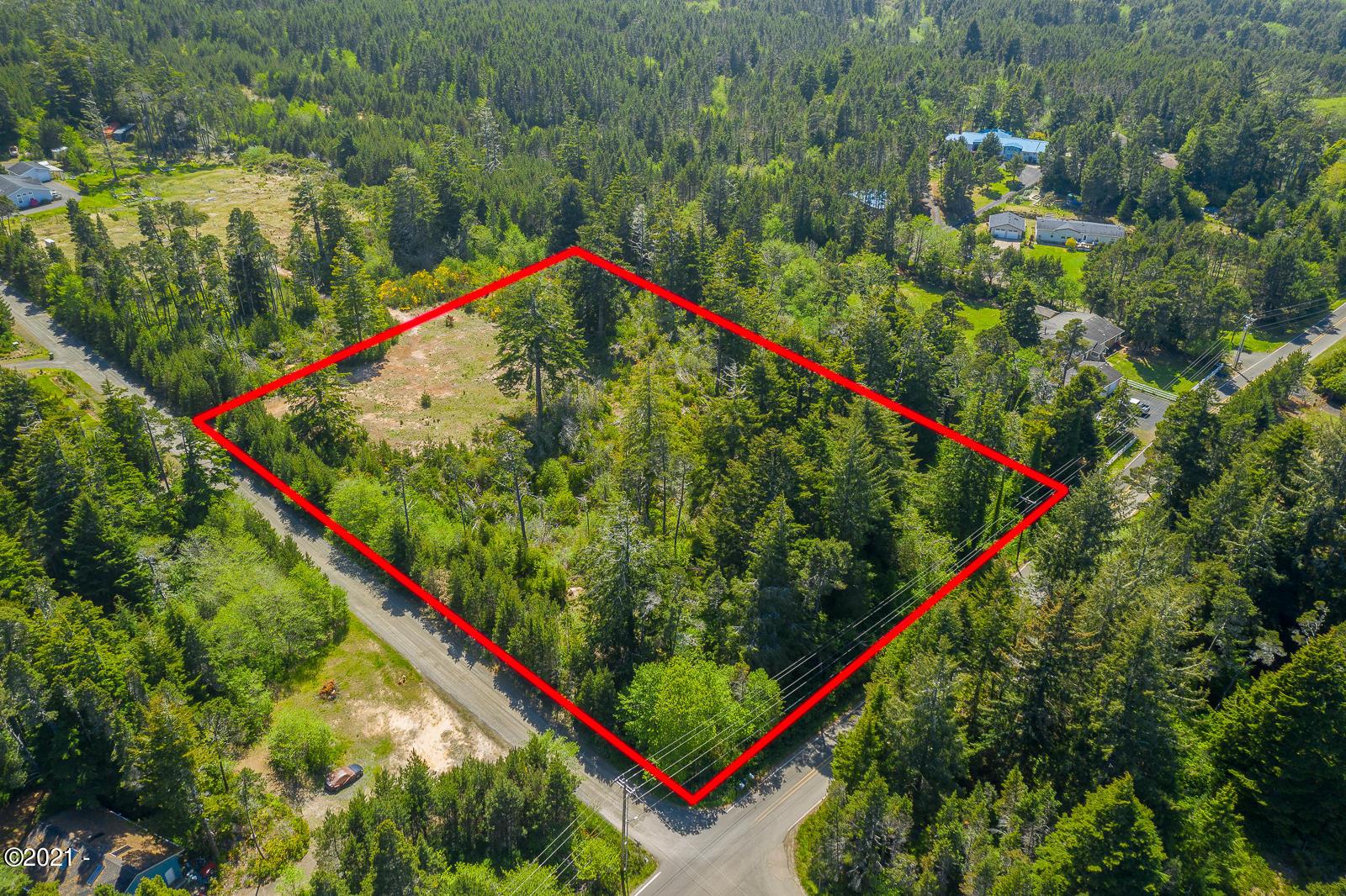 701 Kimberley Street, Seal Rock, OR 97376 - Aerial of Lot