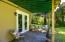 9680 SE Cedar St, South Beach, OR 97366 - Downstairs patio