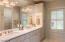 21091 Rock Creek Rd, Sheridan, OR 97378 - Master bath with double vanities