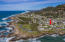 309 W 1st St, Yachats, OR 97498 - Aerial view