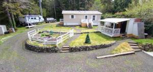 5316 SW Seahawk St, Waldport, OR 97394 - Back of home