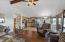 , Rockaway Beach, OR 97136 - Open room with ceiling fan.
