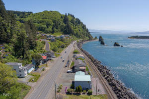 , Rockaway Beach, OR 97136 - View of home Southbound.
