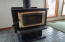 3520 Evergreen Ave, Depoe Bay, OR 97341 - Wood Stove at Living Room
