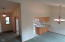 3520 Evergreen Ave, Depoe Bay, OR 97341 - Dining/Kitchen from Living Room