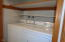 3520 Evergreen Ave, Depoe Bay, OR 97341 - Downstairs laundry/bath