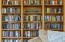 759 NW Estate Dr, Seal Rock, OR 97376 - Living Room Book Shelves