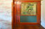 1270 NW Camrose Dr, Seal Rock, OR 97376 - Bedroom 2 Stained Glass Door