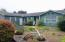 1910 NW Morse Way, Waldport, OR 97394 - Front of house and yard.