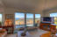 175 Fishing Rock Dr, Depoe Bay, OR 97341 - Living room with ocean view.