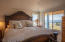175 Fishing Rock Dr, Depoe Bay, OR 97341 - Master bedroom with ocean view.