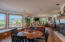 175 Fishing Rock Dr, Depoe Bay, OR 97341 - Family room with gas fireplace