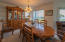 175 Fishing Rock Dr, Depoe Bay, OR 97341 - Dining area.