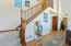 5280 SW Pacific Coast Hwy, Waldport, OR 97394 - Stairs to upper level