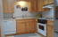 1150 SW 17th St, Lincoln City, OR 97367 - Kitchen w/ Hickory Cabinets