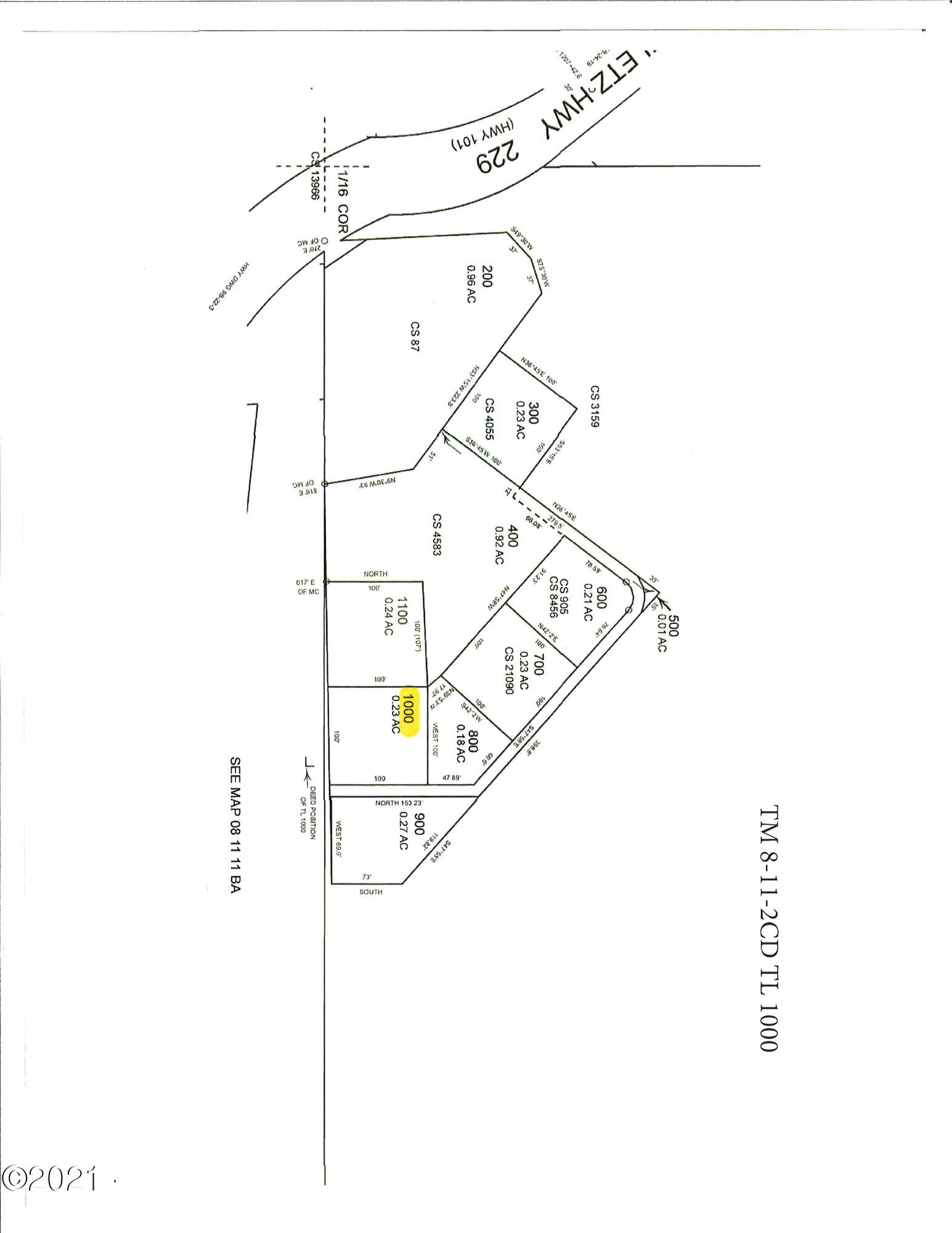 171 Siletz Hwy, Lincoln City, OR 97367 - Plat Map