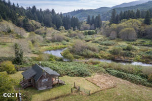 3166 Yachats River Rd., Yachats, OR 97498 - 40.3 Acres with Tiny Home