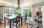 600 Island Dr, #11, Gleneden Beach, OR 97388 - Gracious Dining Room w/Tons of Windows