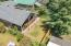 763 SE 7th St, Toledo, OR 97391 - drone view 2 back yard SE 7th