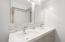 254 S Falcon St, Rockaway Beach, OR 97136 - Downstairs Bathroom- double vanity sinks