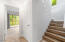 254 S Falcon St, Rockaway Beach, OR 97136 - Stairs down to 2nd bedroom