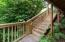 254 S Falcon St, Rockaway Beach, OR 97136 - Stairs going up to north front side of h
