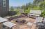 2459 SW Anemone Ave, Lincoln City, OR 97367 - Firepit with Ocean View