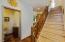 430 SW Wakonda Beach Rd, Waldport, OR 97394 - Stairs to Upper Level