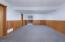 6350 Raymond Ave, Gleneden Beach, OR 97388 - Downstairs Den - plumbed for wet bar