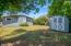1126 NW Parkview St, Seal Rock, OR 97376 - Back with the shed
