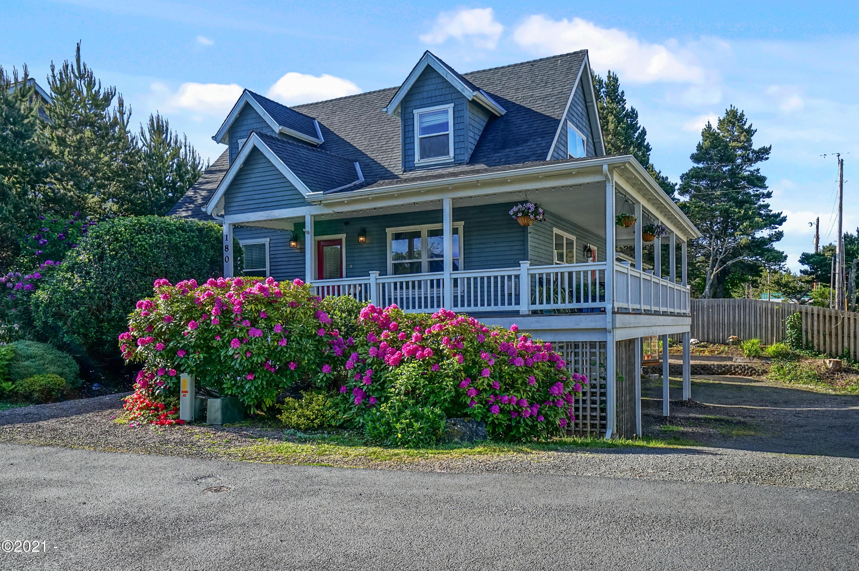 180 Bella Beach Dr, Depoe Bay, OR 97341 - Bella Beach Cottage Home
