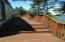 140 SE Surf Ave, Lincoln City, OR 97367 - Deck stairs