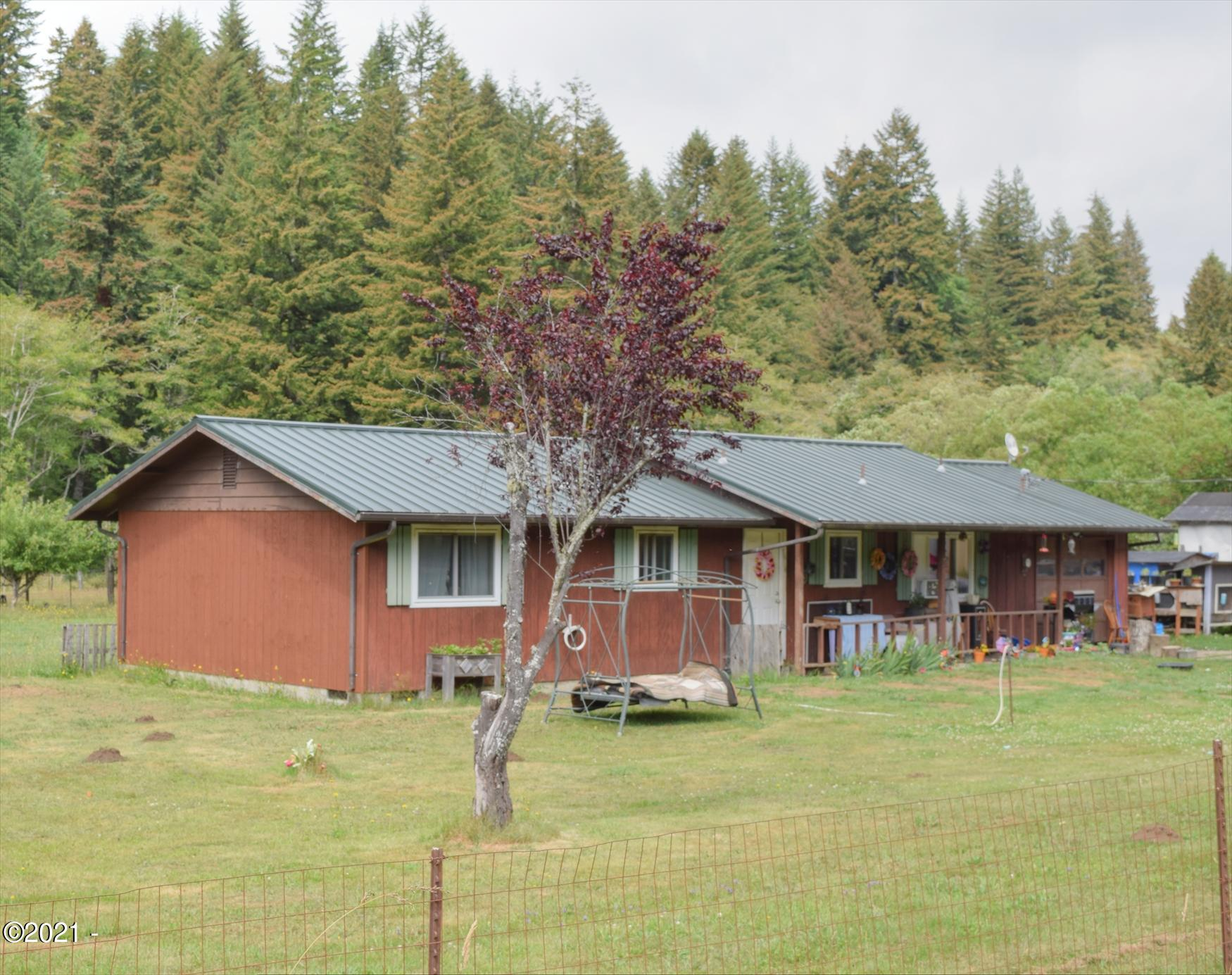 9687 Logsden Rd, Blodgett, OR 97326 - Front