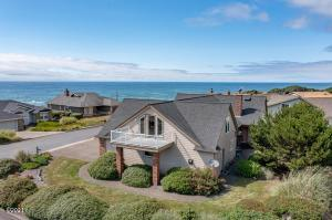 125 Fishing Rock Dr, Depoe Bay, OR 97341 - Aerial Facing NW