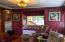 4800 SE Inlet Ave, 1, Lincoln City, OR 97367 - Gas fireplace and bookshelves